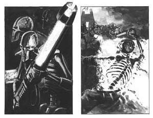 Fanart Efecto Rifle Gauss Guardia Imperial Armamento Necron Wikihammer