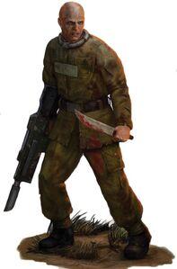 Legión Penal soldado