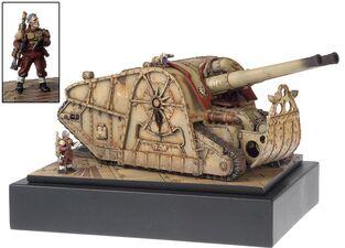 Miniatura guardia imperial plataforma artilleria Minotauro