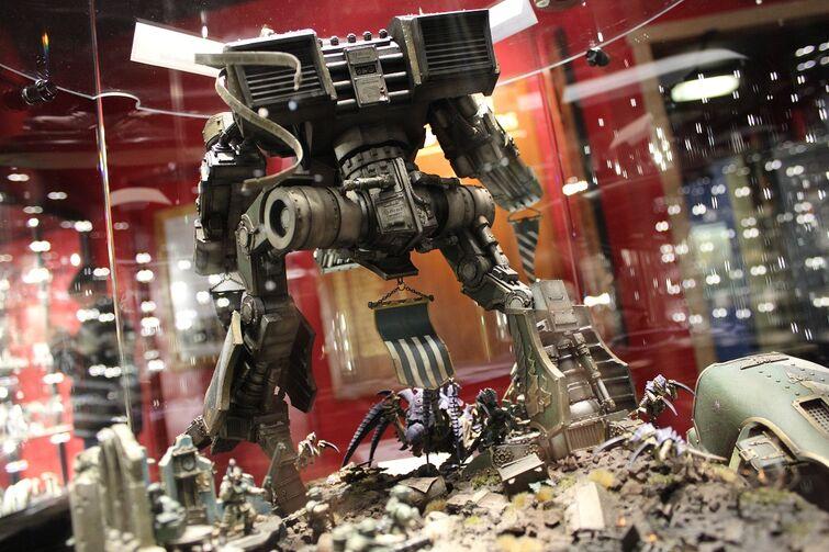 Warhammer World Nottingham Wikihammer Titan warhound 3