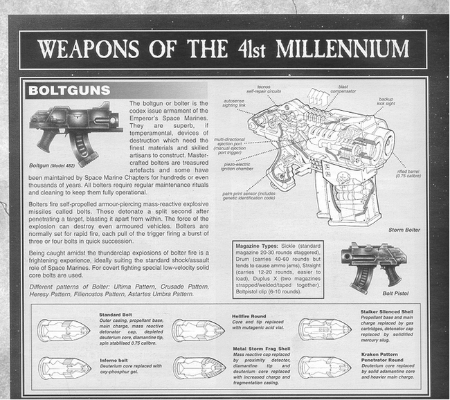 Bólter bólters warhammer 40k wikihammer