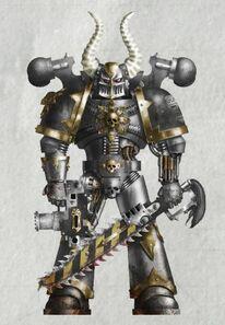 Caos guerrero de hierro varsigonn de lochos