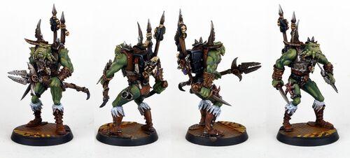 Krashrak el Acechante Viskeon Inquisitor miniatura
