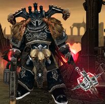 Señor del Caos de la Legión Alpha