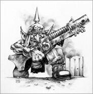 Gretchin orko old warhammer 40k wikihammer