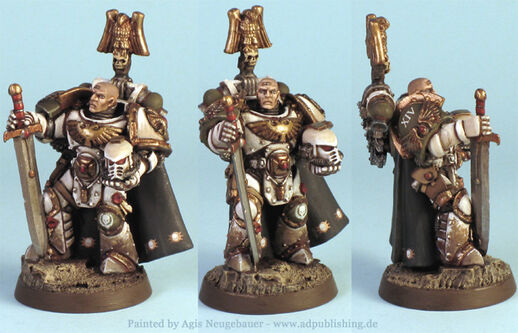 Nathaniel garro capitán de la 7ª compañía de la guardia de la muerte wikihammer 1