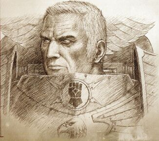 Retrato Rogal Dorn Horus Heresy III Extermination