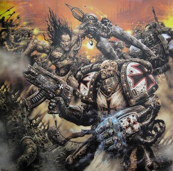 Templarios Negros Vs Hombres Bestia