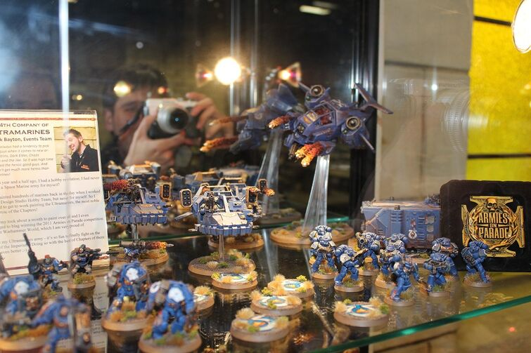 Warhammer World Nottingham Wikihammer Ultramarines 4