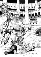 Angron tecno gladiador