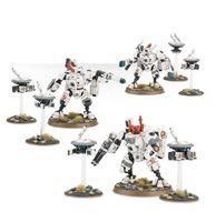 Armaduras de Combate XV8 Crisis Imperio Tau 7ª Edición Miniaturas