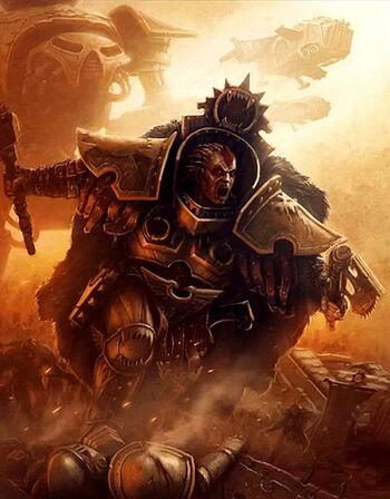Angron Poster Istvaan III Betrayal