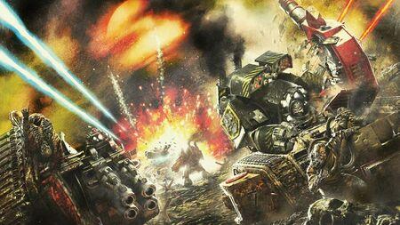 Guerreros de Hierro Invasión de Tallarn Dreadnoughts Contemptor Ejército Imperial Devorador de Vida