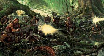 Guardia Imperial Catachán Warhammer 40k Wikihammer