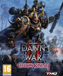 Portada Dawn of War - Chaos Rising