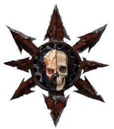 Simbolo Mechanicum Oscuro Caos Wikihammer