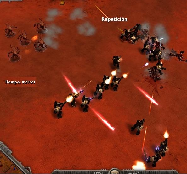 67 Los Templarios luchan palmo a palmo para unirse al asalto Ultramarine.