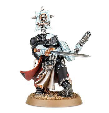 Capitán Sombrío Solaq Guardia del Cuervo