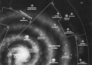 Mapa Segmentum Ultima Gorkamorka