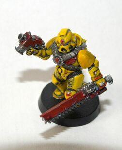 Pintura marine amarillo 03
