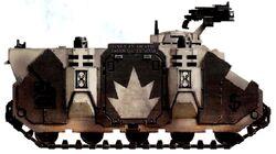 Rhino Fantasmas Estelares 5ª Compañía Escuadra Devastadores