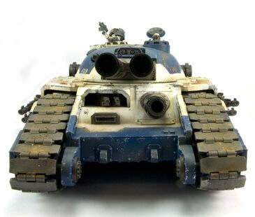Tanque superpesado Fellblade frontal