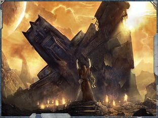 Dross nave estrellada planeta Warhammer 40k Wikihammer