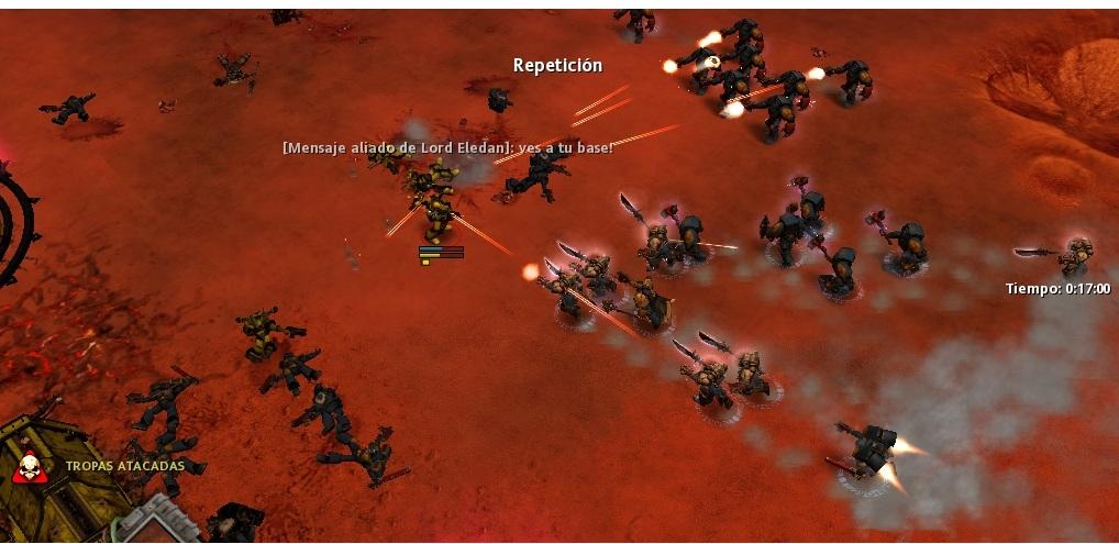 47 Parece que las defensas flaquean, caen.