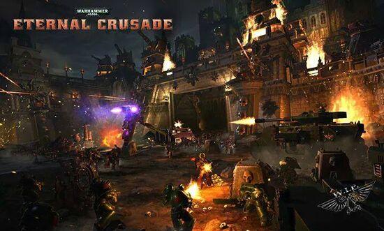 Eternal Crusade Batalla Ángeles Oscuros vs Portadores de la Palabra