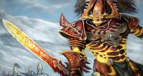 Avatar Khaine eldar warhammer 40k wikihammer