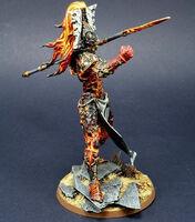 Avatar de Khaine Eldar Forge World miniatura lanza