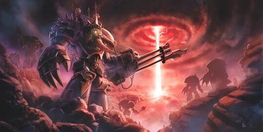 Marines Caos Chaos Exterminadores Warhammer 40k Wikihammer