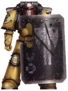 Ahmand Sargento Veterano Escuadra Rompedora Puños Imperiales