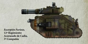 Guardia Imperial tanque leman russ punisher cadia