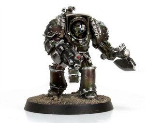 Armadura de Exterminador modelo Gorgona