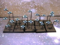 Bombarderos Águila Eldars Battlefleet Gothic Miniaturas