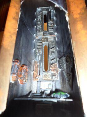 Escenografía Imperio Torre Cañón Láser Warhammer 40k Wikihammer 4