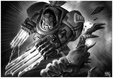 Exterminador vs tiranid