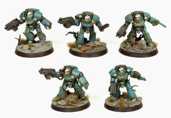 Exterminadores Tartaros Legión Alfa