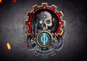 Logo del Cuto Mechanicus