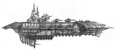 Caos crucero pesado clase acheron