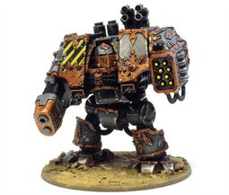 Caos dreadnought guerreros de hierro