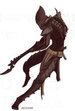 Eldar oscuro kabalite warrior