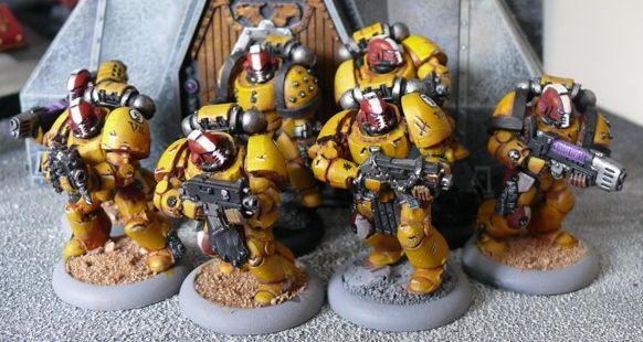 Escuadra Táctica Maximus Truescale Legión Puños Imperiales