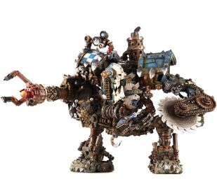 Orko mecha dreadnought miniatura wikihammer
