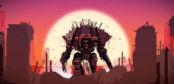 Caballeros del Caos Imperial Knight Dark Mechanic
