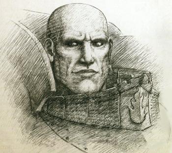 Lorgar Aureliano boceto
