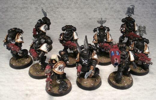 Escuadra Táctica Maximus Ferrum Ángeles Oscuros Wikihammer