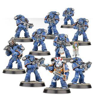Escuadra Táctica Ultramarines Mk 4 Maximus Calth