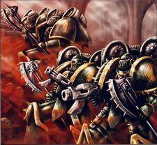 Escuadra de Asalto Grogor Hijos de Horus Bastión de la Sirena Istvaan III